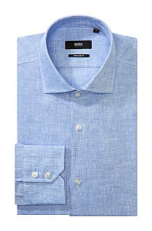 Business shirt with a shark collar 'Gordon'