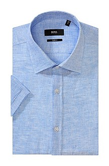 Linen business shirt 'Jats'