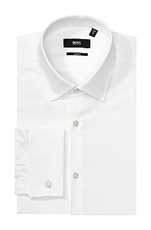 Chemise business Slim Fit à col Kent, Jacques
