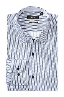 Chemise business à motif all-over, Juri