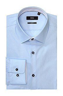 Business shirt with a shark collar 'Juri'