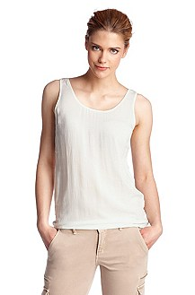 Top en pure viscose, Etope