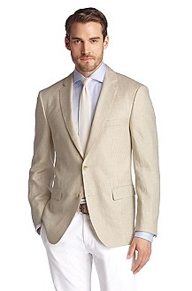 Business jacket with a check pattern 'Halson'
