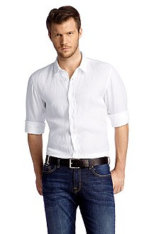 Slim fit casual shirt with a Kent collar 'Cliff'