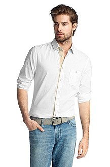 Slim fit casual shirt 'EslimE'