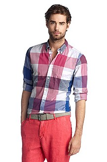 Freizeit-Hemd ´EquatorE` mit Button-down-Kragen