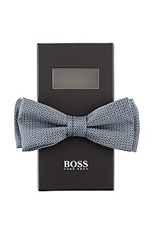 Nœud papillon en soie brillante, Bow tie fashion