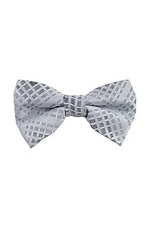 Bow tie in a silk blend 'Big bow tie'