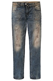 Destroyed-Jeans ´Orange63 ego` aus Baumwolle