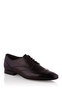 Smooth leather lace-up 'Frano'