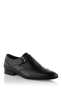 Monk shoe made of smooth calfskin 'Frankon'