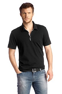 Polo shirt made of fine cotton piqué 'Pejo 1'