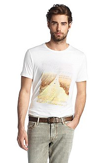T-shirt à encolure ronde, Tropical 2