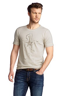 T-shirt with a round neckline 'Taragon'