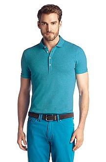 Regular-Fit Piqué-Poloshirt ´Bellano 10`