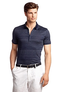 Cotton blend polo shirt 'Bugnara 22'