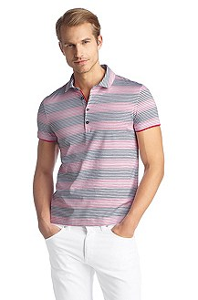 Pure cotton polo shirt 'Arpino 08'