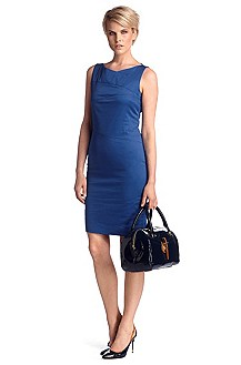 Cotton/elastane sheath dress 'Disien3'