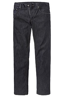 Freizeit-Jeans ´Maine` aus Black-Denim
