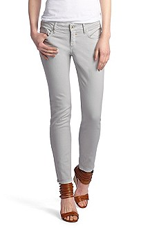 Slim fit jeans in blended cotton 'Lunja1-Ankle'
