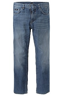 Pure cotton regular fit jeans 'Maine'