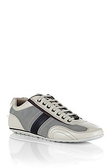 Leather/textile sneaker from HUGO 'Tattio'