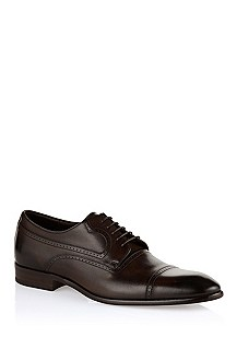 Calfskin leather lace-up 'Lusion'