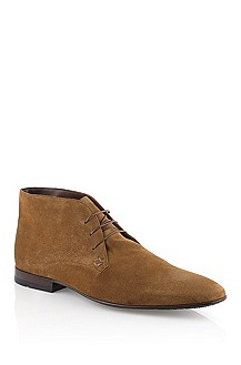 Lace Up ´Hilmos` aus Veloursleder
