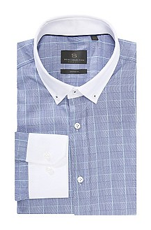 Shaped Fit, cotton business shirt 'Tillio'