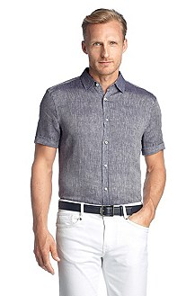 Chemise détente Shaped Fit à col Kent, Anteo