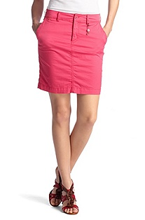 Cotton blend mini skirt 'Bekura-W'