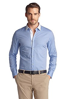 Shaped Fit, casual shirt with a Kent collar 'Alo