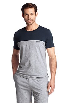 T-shirt with a round neckline 'Shirt RN SS BM'