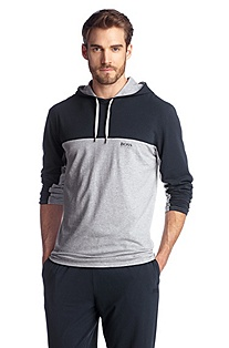 Blended cotton sweatshirt 'Shirt Hooded LS BM'