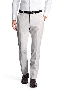 Check business trousers 'Genevo'