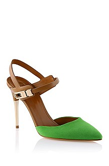 Pumps ´Chendra-S` aus Veloursleder-Mix