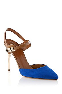 Mixed suede pump 'Chendra-S'