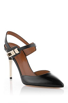 Leather court shoe 'Chendra'
