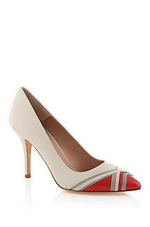 Smooth calfskin leather pump 'Miris'
