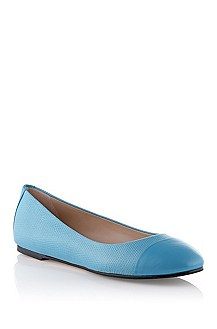Calfskin leather ballerina 'Thaide-K'