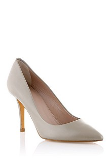 Shiny leather court shoe 'Nabylon'