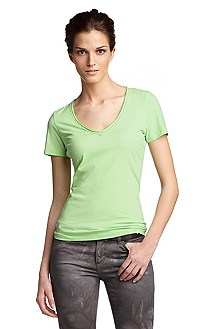 V-neck T-shirt 'Vienis'