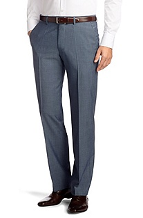 Suit trousers made of pure new wool 'Parkway1'