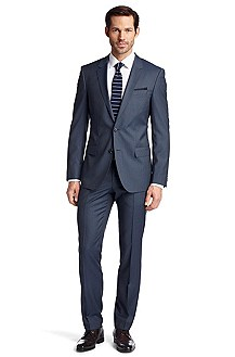 Suit in pure new wool 'Huge2/Genius1'