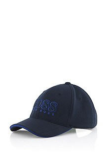 Cap with large embroidered logo 'Cap US'