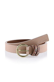 Leather belt with a pin buckle 'Vjolet'