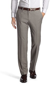 Suit trousers with a percentage of cashmere