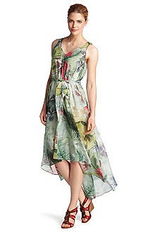 A-line summer dress 'Ahotaru-W'