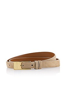 Soft leather belt 'Tanika-S'