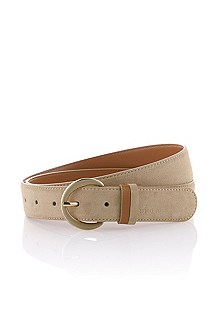 Belt with round pin buckle 'Sofy-S'